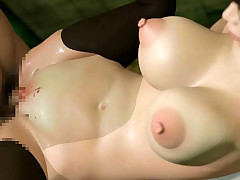Huge breasted 3D hentai babe chastened in coarse extreme hard core pornography